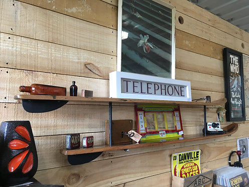 Upcycled Vintage Water Ski Shelves