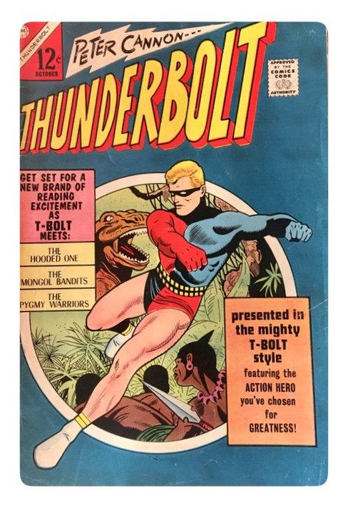 Vintage Thunderbolt Comic 1966