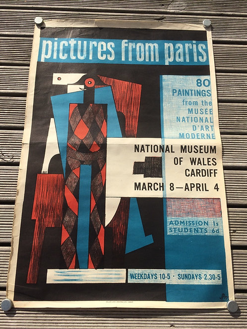 UK Mid Century Museum Exhibition Poster