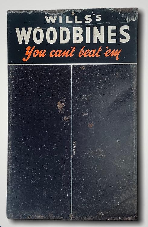 Vintage Metal advertising Scoreboard