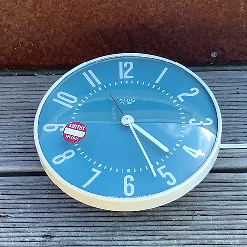 Original 1960's Smith's Sectric Doric Kitchen Clock