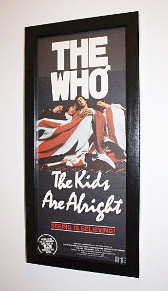The Kids are Alright Film Poster / Framed