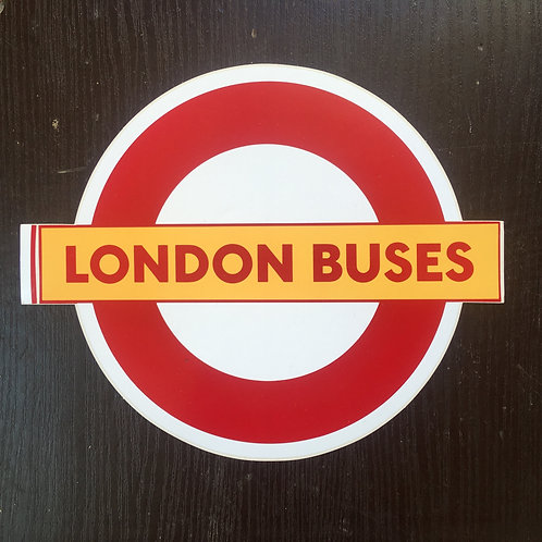 Original London Routemaster Sticker Decal
