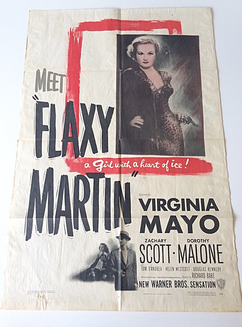 Flaxy Martin Original Film Poster 1948