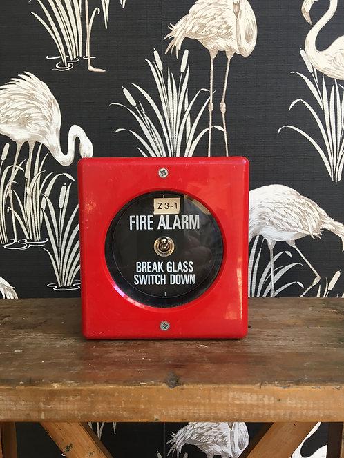 Vintage Fire Break Glass Switch