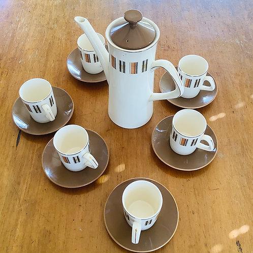 Vintage Crown Clarence Coffee Set