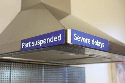 Original London Underground Service Magnets