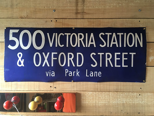 Original London Bus Panel