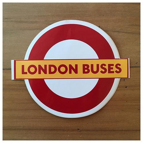 Original London Transport Bus Stickers