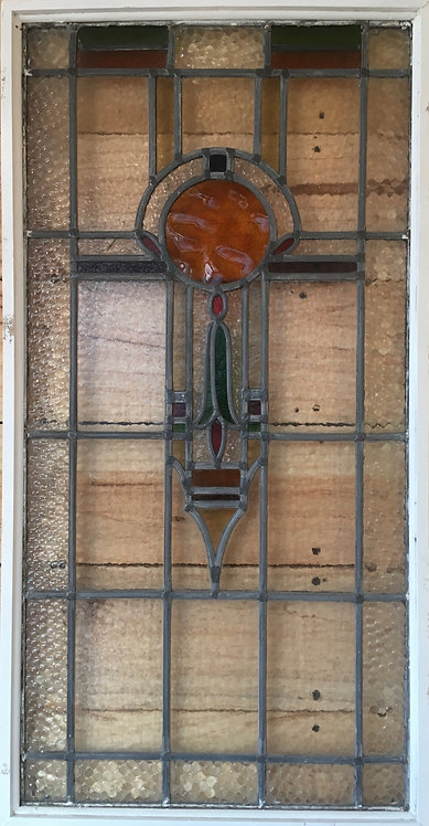Period Stained Glass Window