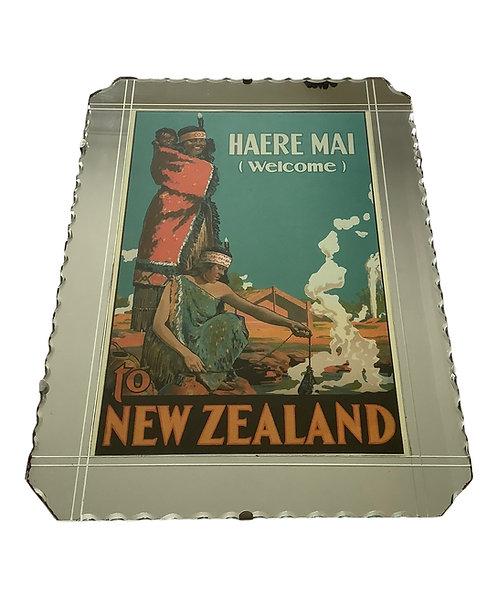 Vintage NZ Mirror Picture