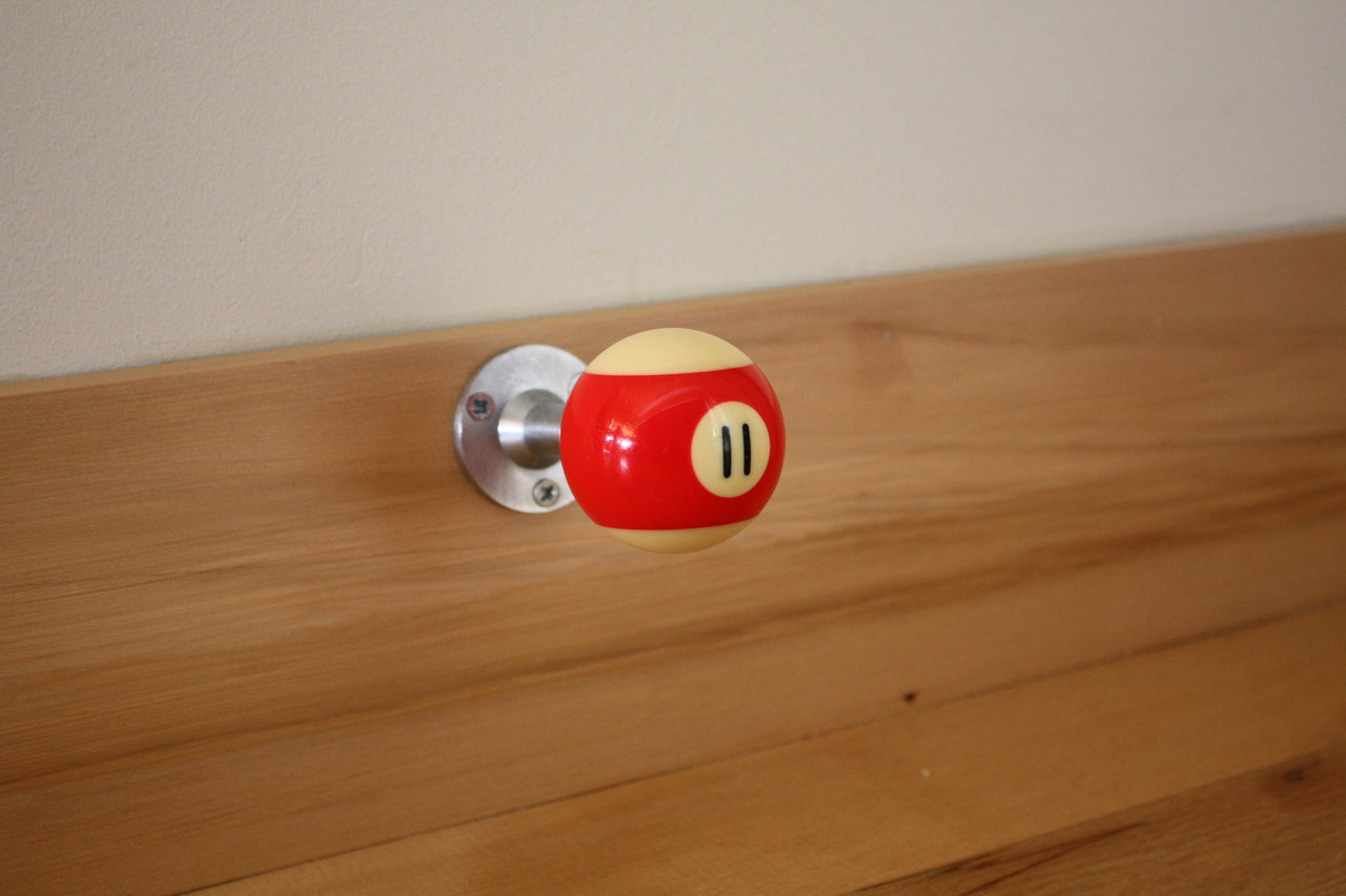 Pool Ball door stop