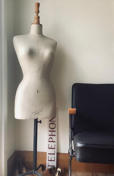 Vintage Buste Girard French Dressmakers Form