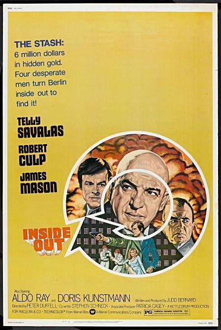 1975 Inside Out Original film Poster
