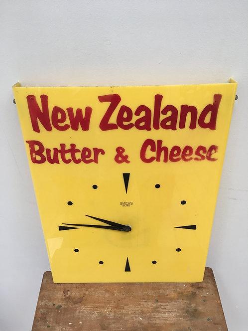 Vintage Smith's Advertising Shop Clock