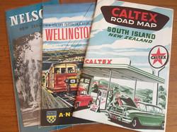 Vintage Tourist Maps