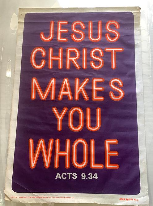 1970's Gospel Ecclesiastical Poster