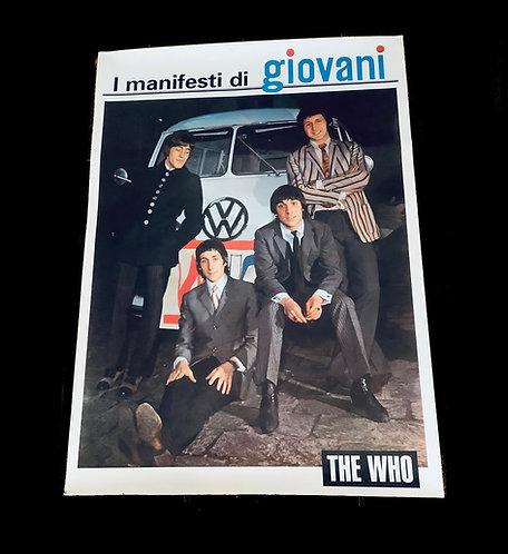 Original Italian Who Poster