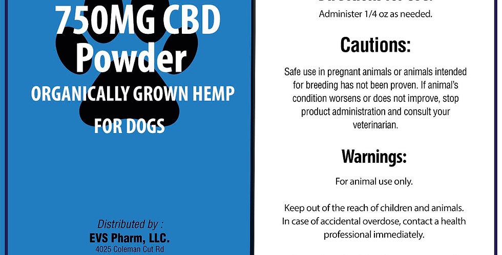 750mg CBD Powder