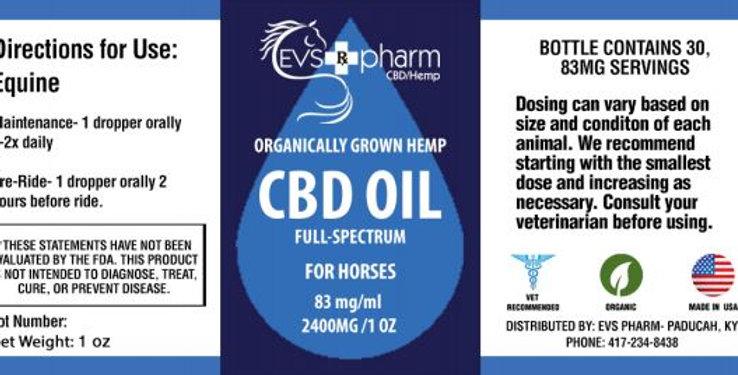 2400mg CBD Oil