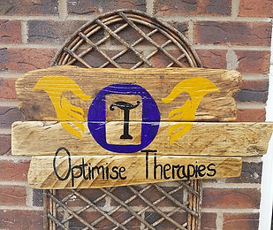 Optimise Therapies sign
