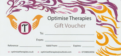 Gift voucher for 30 minute treatment sports and remedial therapy gift voucher for 30 minute treatment negle Choice Image