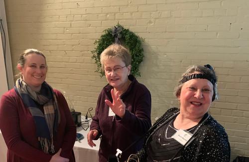 Bert Griffin, Barb Martin and Amanda Mil