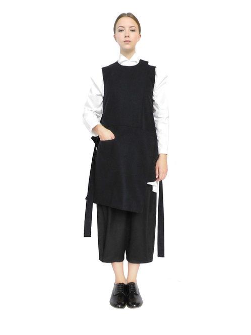 Designer Womenswear Chic Bespoke Avantgarde Beautiful Wool Lux Style Gilet