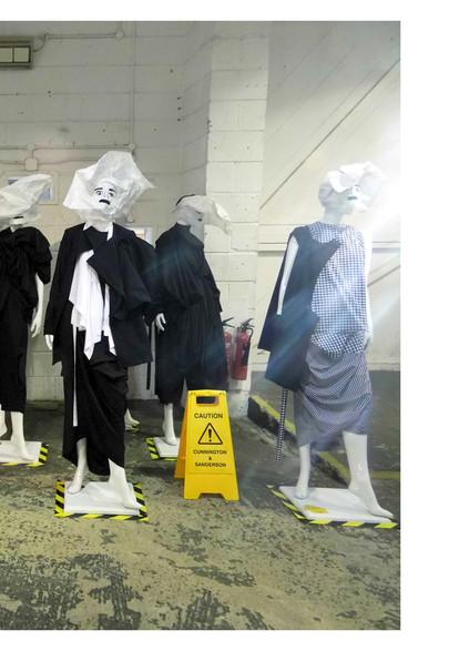 Cunnington & Sanderson Exhibition at London Fashion Week
