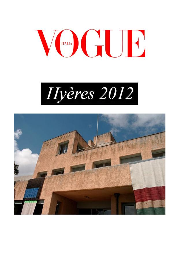 vogue Italia Hyeres Villa Noailles