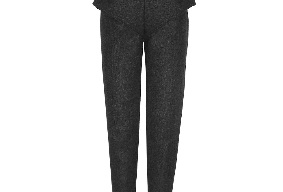 Folded Front Trouser