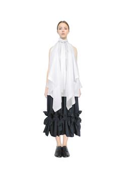 Blanket top & chandelier skirt
