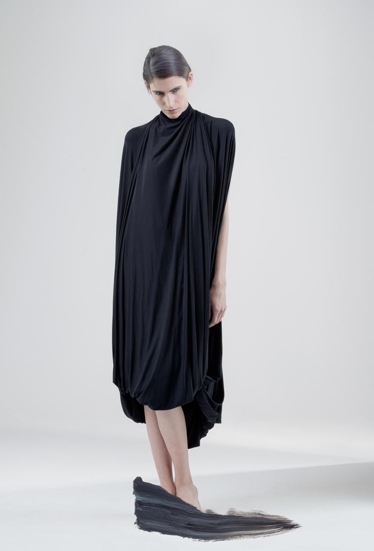 Hail mary draped dress