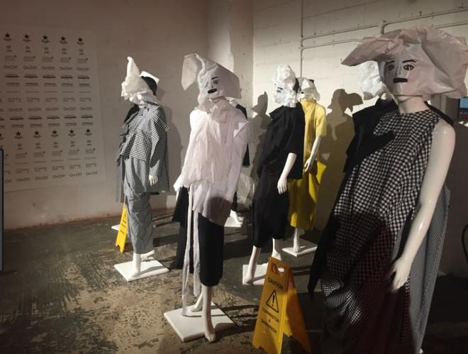 collezioni lfw onoff caution exhibition