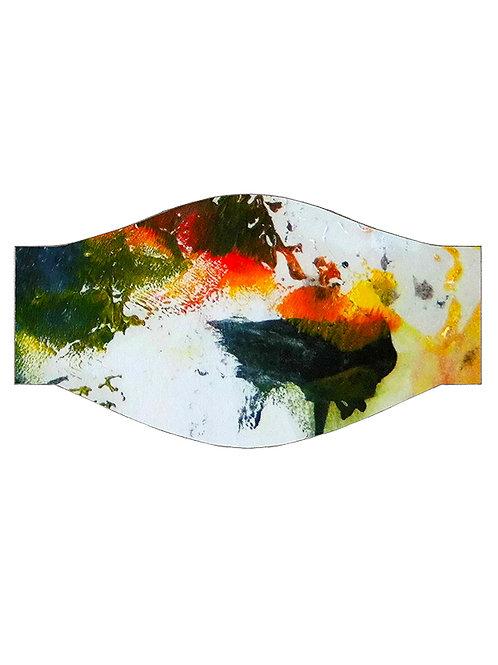 Multi Coloured Unisex Adult Face Covering Organic Cotton Accessories Organic Sustainable Designer Lux