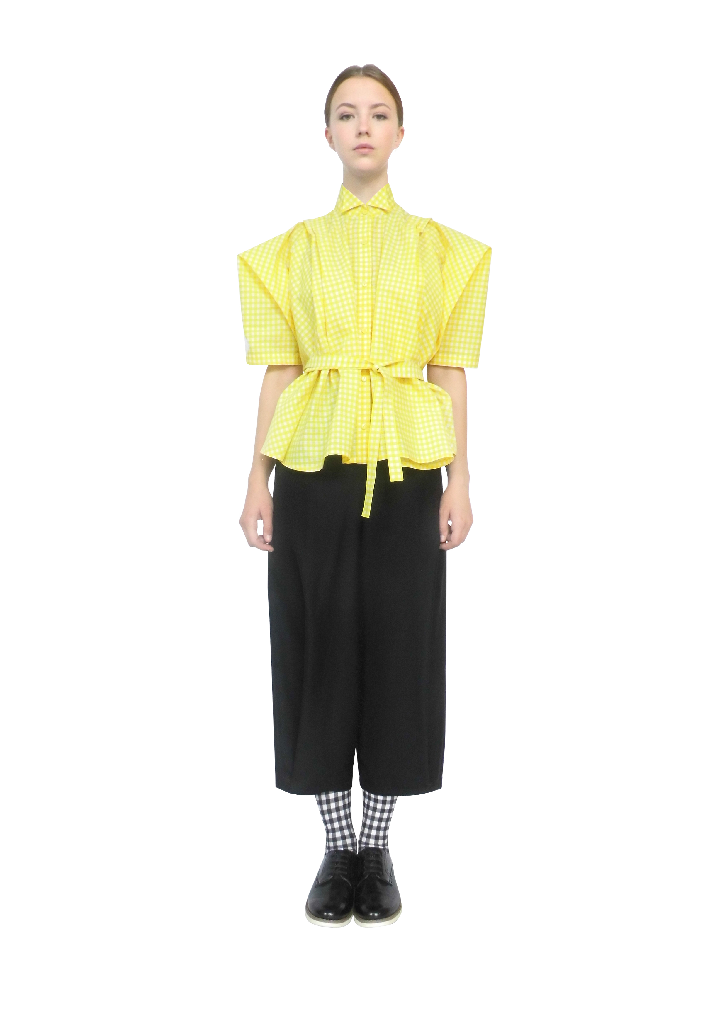 The farmers shirt & pleated trousers