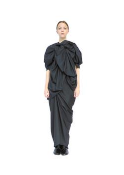 Rosette blouse & sow seed skirt