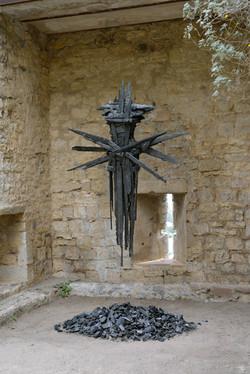 Noire Etoile, sculpture