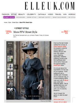 ELLE UK.COM October 2013