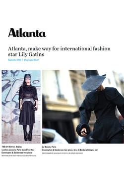 Atlanta Magazine September 2016