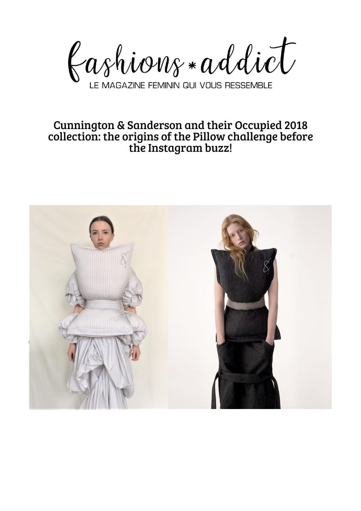 Fashions-addict Pillow Dress Origins