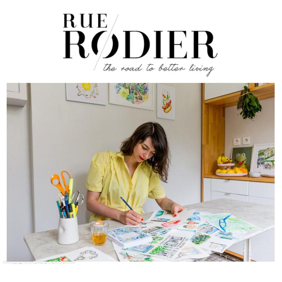 RUE RODIER Jessie kanelos Weiner