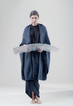 Forgiven wool cape