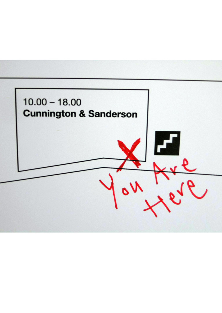Cunnington & Sanderson Exhibition at Ox Tower Wharf #LFW