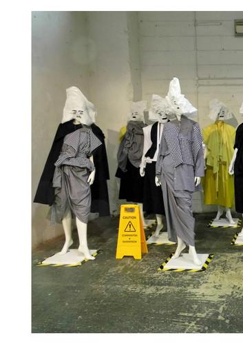 Cunnington & Sanderson Caution Exhibition at #lfw