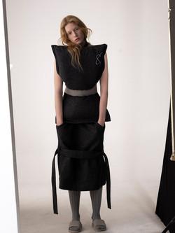 Pillow top & Jacket pocket skirt
