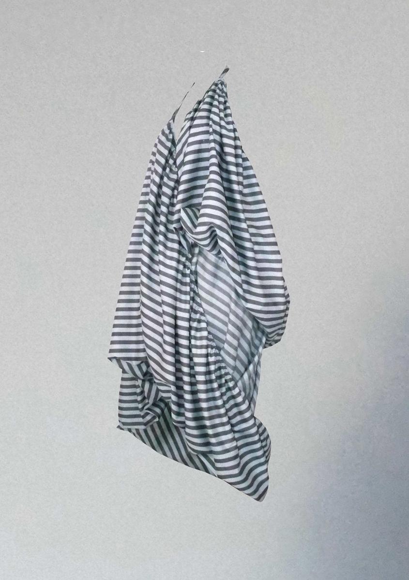 Striped laundry dress