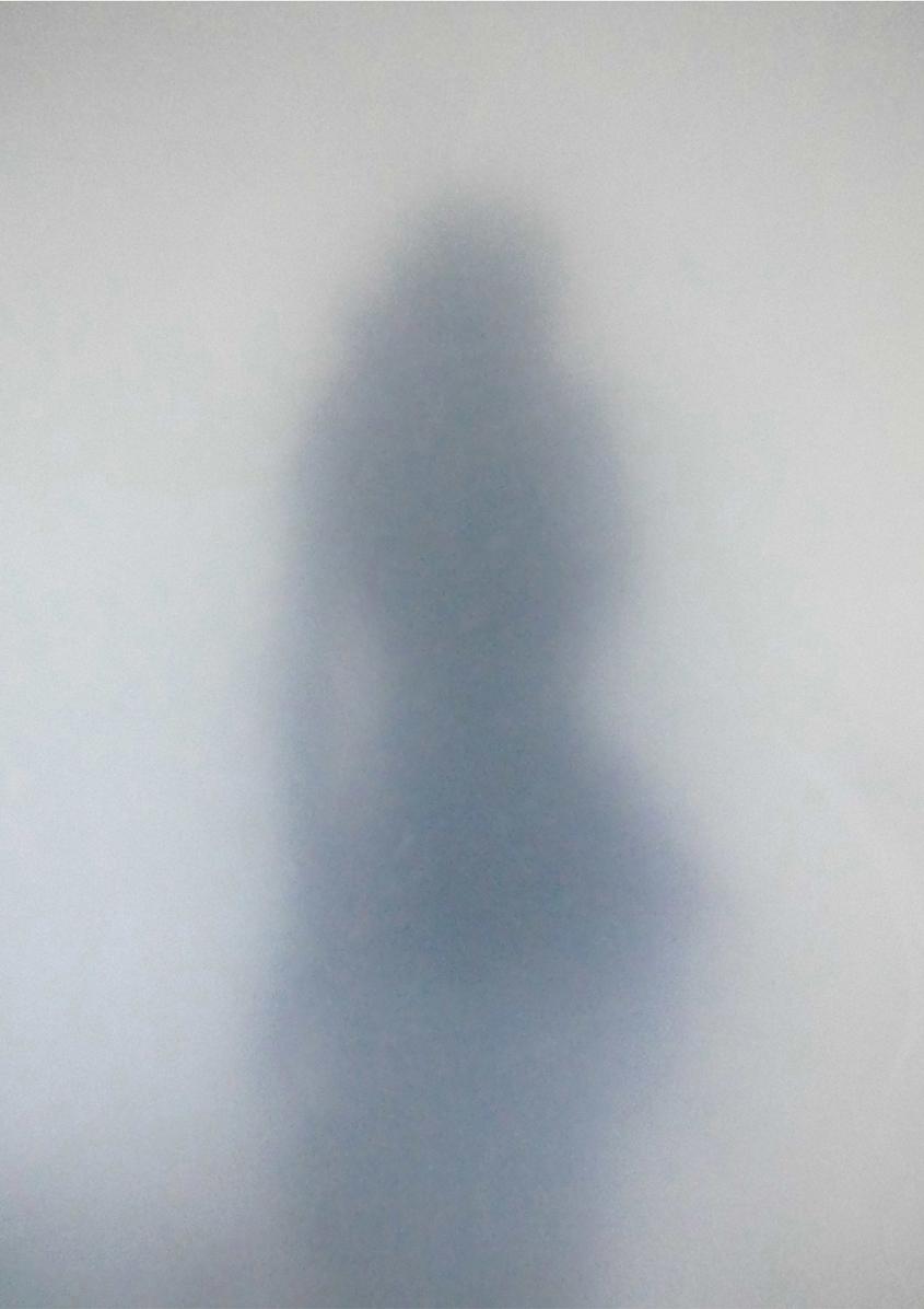 Emotive sculptural silhouette Pillow