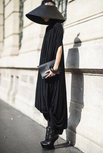 Lily Gatins at Paris Fashion Week