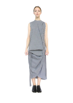 Square coat dress